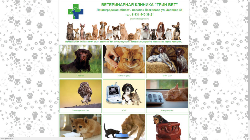 Ветеринарная клиника на улице Зеленая - ветклиника Грин Вет